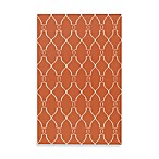 Surya Fallon Rug in Coral
