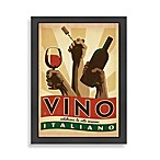 Vino Italiano Framed Wall Art