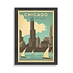 Chicago Windy City Framed Wall Art