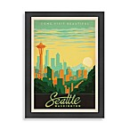Seattle Framed Wall Art