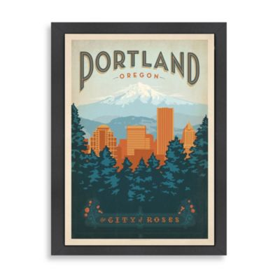 Portland Framed Wall Art