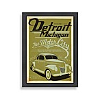 Detroit Michigan Framed Wall Art