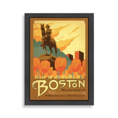 Boston Framed Wall Art