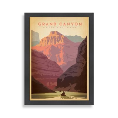 Americanflat Grand Canyon Framed Wall Art