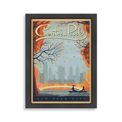 Central Park New York City Framed Wall Art
