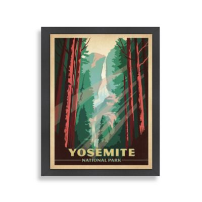 Americanflat The Art & Soul of America Yosemite Wall Decor