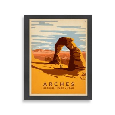 Americanflat Arches Framed Wall Art