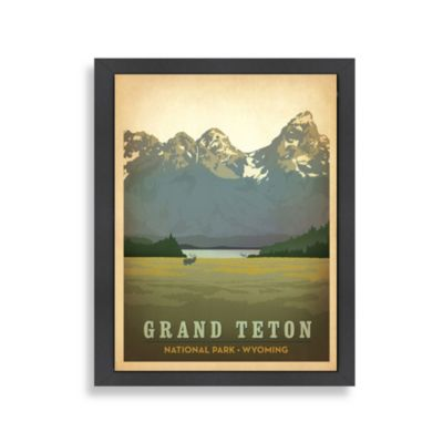 Americanflat The Art & Soul of America Grand Teton Wall Art