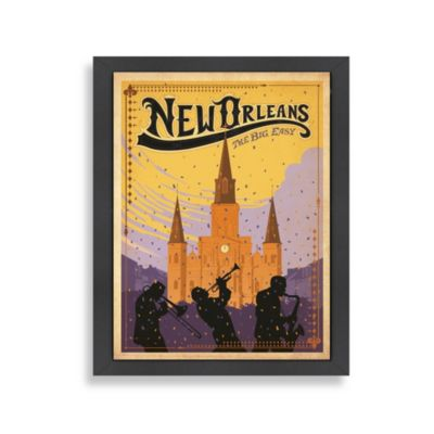Americanflat New Orleans Framed Wall Art