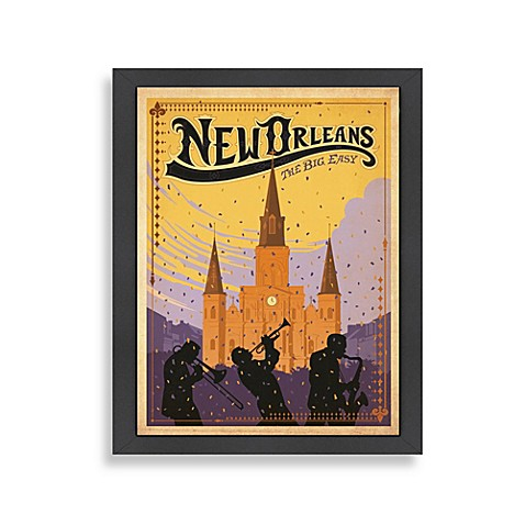 Buy Americanflat New Orleans Framed Wall Art From Bed Bath