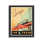 The Art & Soul of America Chicago L Train Wall Decor