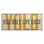 YOLO Wall Art