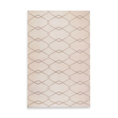 Surya Albin 5-Foot x 8-Foot Rug in Ivory/Taupe