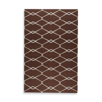Albin 8-Foot x 11-Foot Rug in Chocolate/Ivory