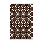 Byron Rug in Chocolate/Cream