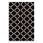 Byron Rug in Black/Cream