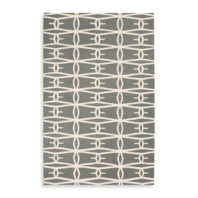 Dayton Rug in Blue Grey/Cream