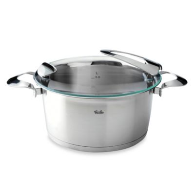 Fissler Solea® 5-Quart Stainless Steel Covered Stewpot