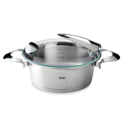 Fissler Solea® 4-Quart Stainless Steel Covered Casserole