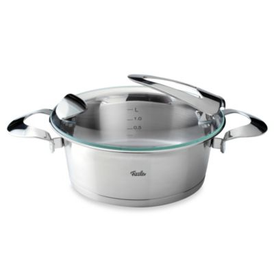 Fissler Solea® 2.4-Quart Stainless Steel Covered Casserole
