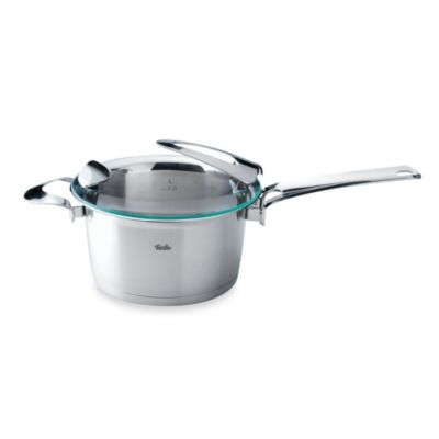 Fissler Solea® 2.4-Quart Stainless Steel High Covered Saucepan