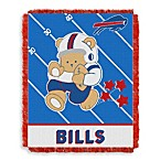 NFL Buffalo Bills Woven Jacquard Baby Blanket/Throw