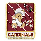 NFL Arizona Cardinals Woven Jacquard Baby Blanket/Throw