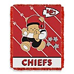 NFL Kansas City Chiefs Woven Jacquard Baby Blanket/Throw