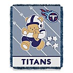 NFL Tennessee Titans Woven Jacquard Baby Blanket/Throw