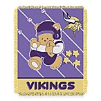 NFL Minnesota Vikings Woven Jacquard Baby Blanket/Throw