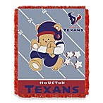 NFL Houston Texans Woven Jacquard Baby Blanket/Throw