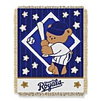 MLB Kansas City Royals Woven Jacquard Baby Blanket/Throw
