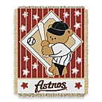 MLB Houston Astros Woven Jacquard Baby Blanket/Throw