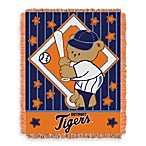 MLB Detroit Tigers Woven Jacquard Baby Blanket/Throw
