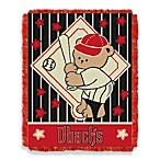 MLB Arizona Diamondbacks Woven Jacquard Baby Blanket/Throw