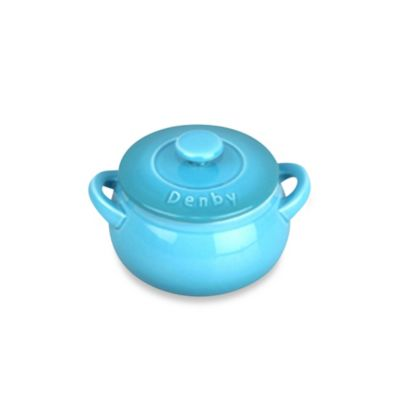 Denby Ceramic Mini Casserole Dish in Azure