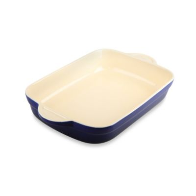 Denby Ceramic Medium Oblong Dish in Blue