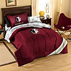 Florida State University School Logo Applique Bedding Set
