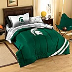 Michigan St. Spartans Applique Bedding Sets
