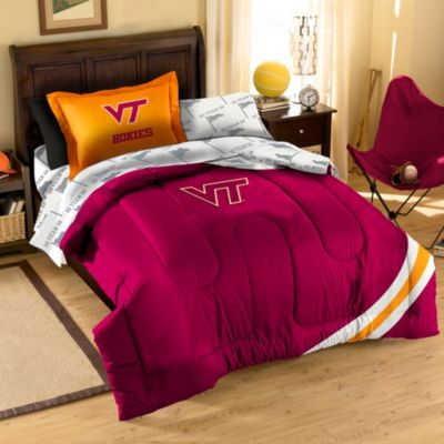 Virginia Tech Hokies Twin Applique Bedding Set