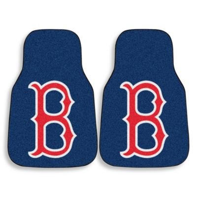 "Boston Red Sox ""B"" Logo Carpet Car Mat (Set of 2)"