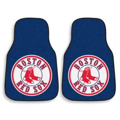 Boston Red Sox Carpet Car Mat