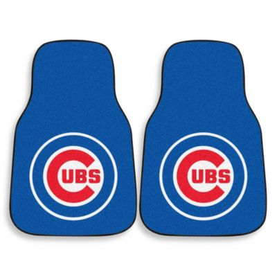 MLB Chicago Cubs Carpet Car Mat (Set of 2)