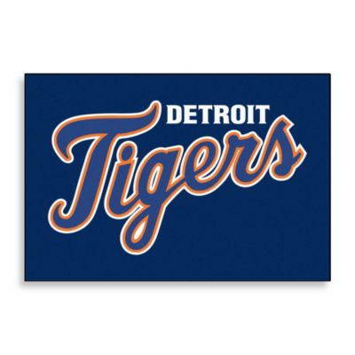 Detroit Tigers Floor Mat