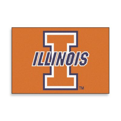 University of Illinois Floor Mat
