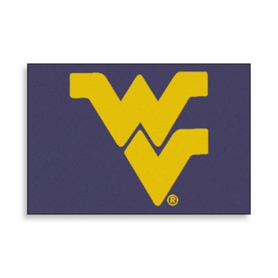 West Virginia University Floor Mat