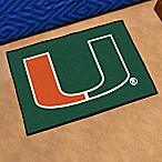 University of Miami Floor Mat