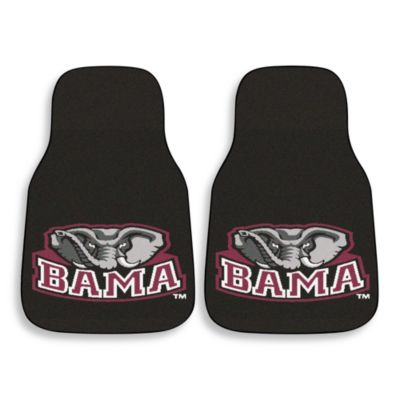 University of Alabama Carpeted Car Mats (Set of 2)