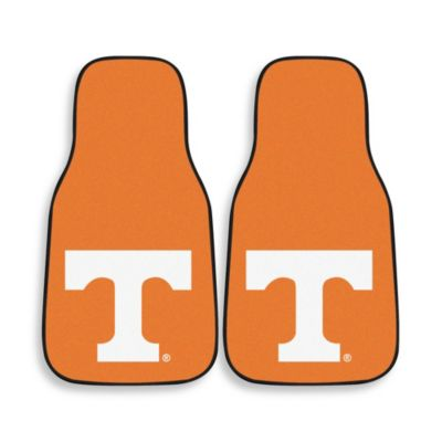 University of Tennessee Carpeted Car Mats (Set of 2)