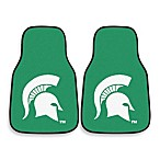 Michigan State University Nylon Car Mat (Set of 2)